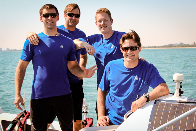 The Arctic Row team. They are attempting to row from Canada to Russia. Courtesy: Arctic Row. Alaska Dispatch
