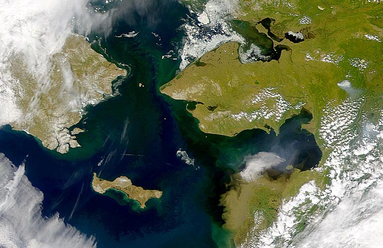 Russian bering sea marine border issues