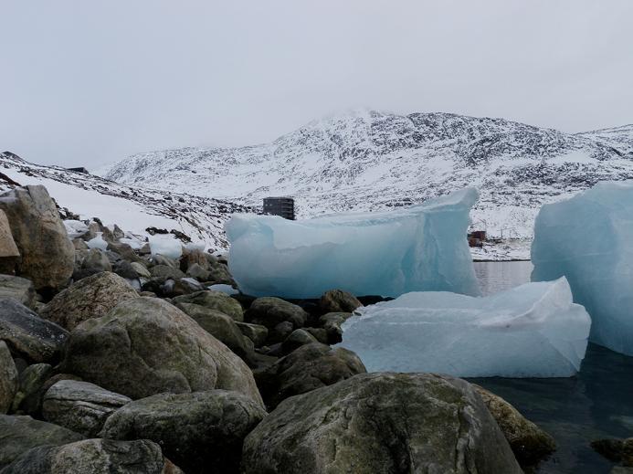 Sea ice. Nuuk, Greenland. Photo: Eilis Quinn.