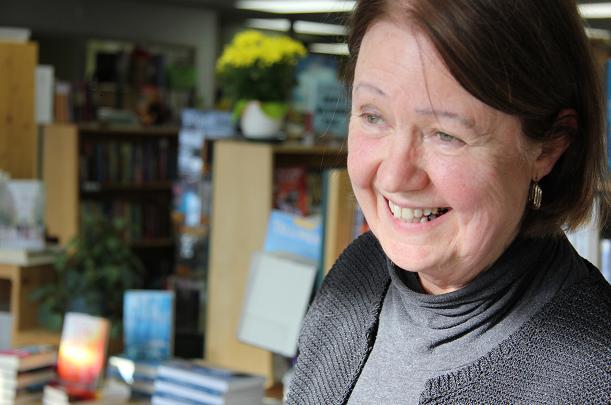 Judith Drinnan, owner of The Yellowknife Book Cellar. Photo: Eilís Quinn