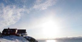 Old town Nuuk, Greenland. Kingdom of Denmark. Photo by Eilís Quinn. Radio Canada International.
