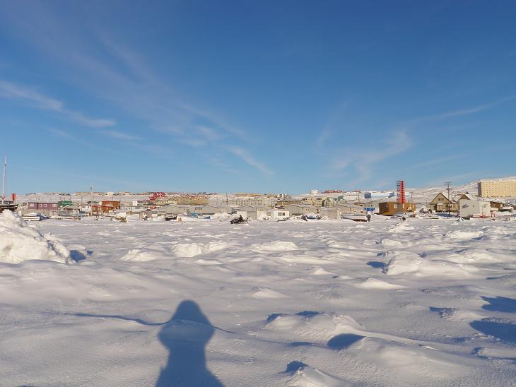 Iqaluit, Nunavut, site of the 2010 Nunavut Language Summit. Photo by Eilís Quinn.
