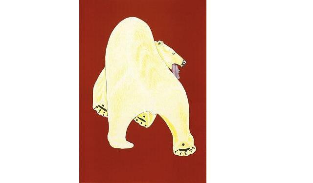 Great Big Bear (2003) by Kananginak Pootoogook. Image courtesy of Dorset Fine Arts.