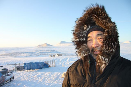 Inuktitut-speaking hunter David Iqaqrialuq from Clyde River, Nunavut. Photo by Levon Sevunts.