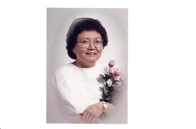 Minnie Akparook. Nursing school photo 1995. Photo courtesy of Minnie Akparook