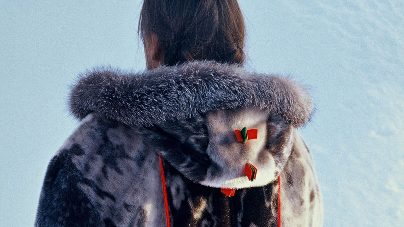 Coat made of sealskin, by Tapio Pittja. (Private / Radio Sweden)