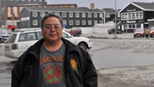 Mickey Stickman of the Arctic Athabaskan Council said indigenous groups should have a greater voice on issues such as climate change. (Patricia Bell/CBC)