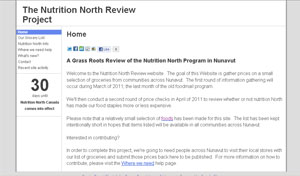 Tony Rose of Iqaluit launched his website, NutritionNorth.org, on Tuesday. (CBC)