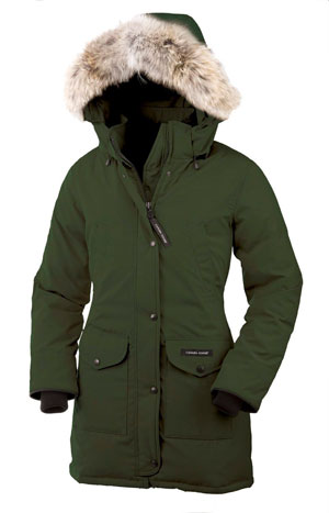 The fake parkas used dog and raccoon fur instead of coyote. (THE CANADIAN PRESS/AP-HO-Canada Goose)
