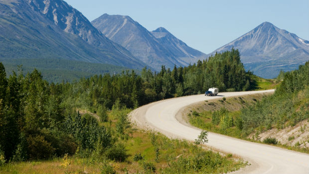 The US government has provided more than $400 million over the past 30 years to reconstruct and pave the Alaska Highway. (istockphoto)