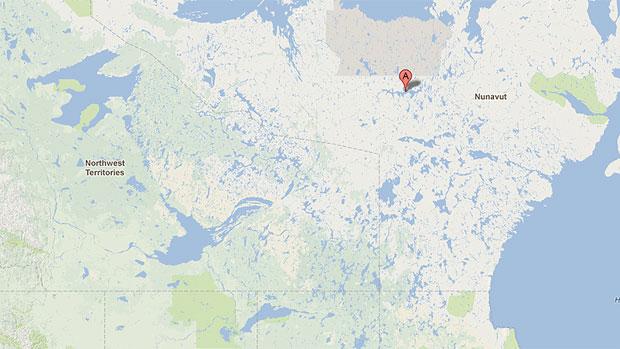 Uravan Minerals sunk $4 million into exploring at Garry Lake, near Baker Lake in Nunavut. (Google Maps)