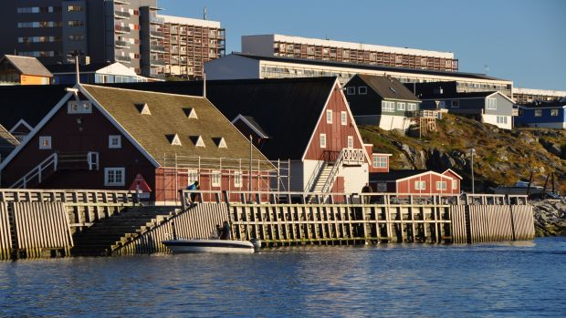 Nuuk, Greenland, is hosting a conference on northern urbanization. (Emily Ridlington photo) CBC.ca