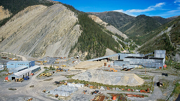 The value of the zinc, lead and silver deposit at the Prairie Creek mine is estimated at $2.5 billion. (Canadian Zinc Corp.)