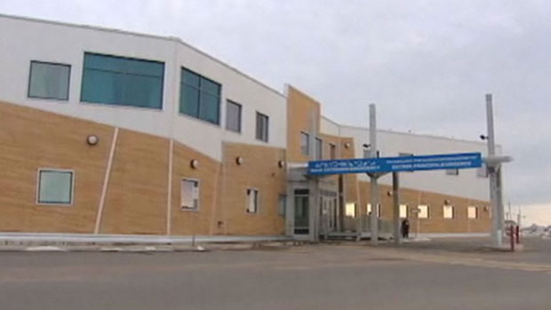 The Qikiqtani Hospital in Iqaluit. The report says there are more preventable deaths and illnesses in the North than in the rest of Canada. (CBC)