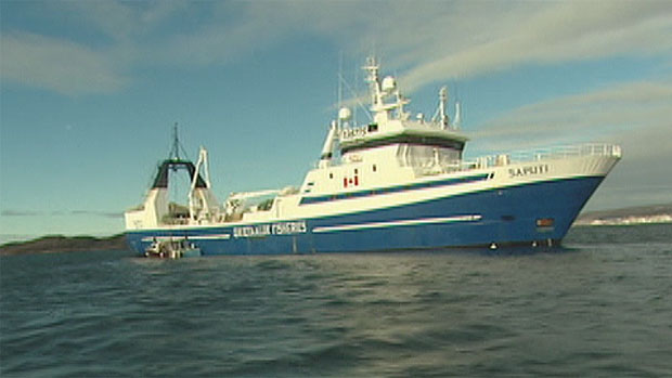 The Saputi was built in 1987. It just got an extension that will allow it to hold more turbot and shrimp. (CBC)