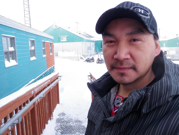 Lucassie Alayco, recreation co-ordinator in Akulivik, Nunavik. Photo by Eilís Quinn.