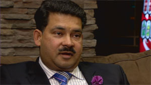Deepak Kumar, president of Deepak International, says the deal reached between his company and the government of the N.W.T. will help revive Yellowknife's diamond cutting and polishing industry. (CBC)