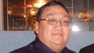 Merven Gruben, the mayor of Tuktoyaktuk, N.W.T., said he hopes work will begin on the road this winter. (File photo)