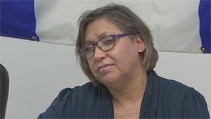 Sue Enge, a Métis woman in Yellowknife, said the ruling means the government will recognize and respect their rights. (CBC)