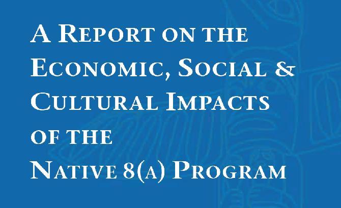 Report on Native 8(a) Program