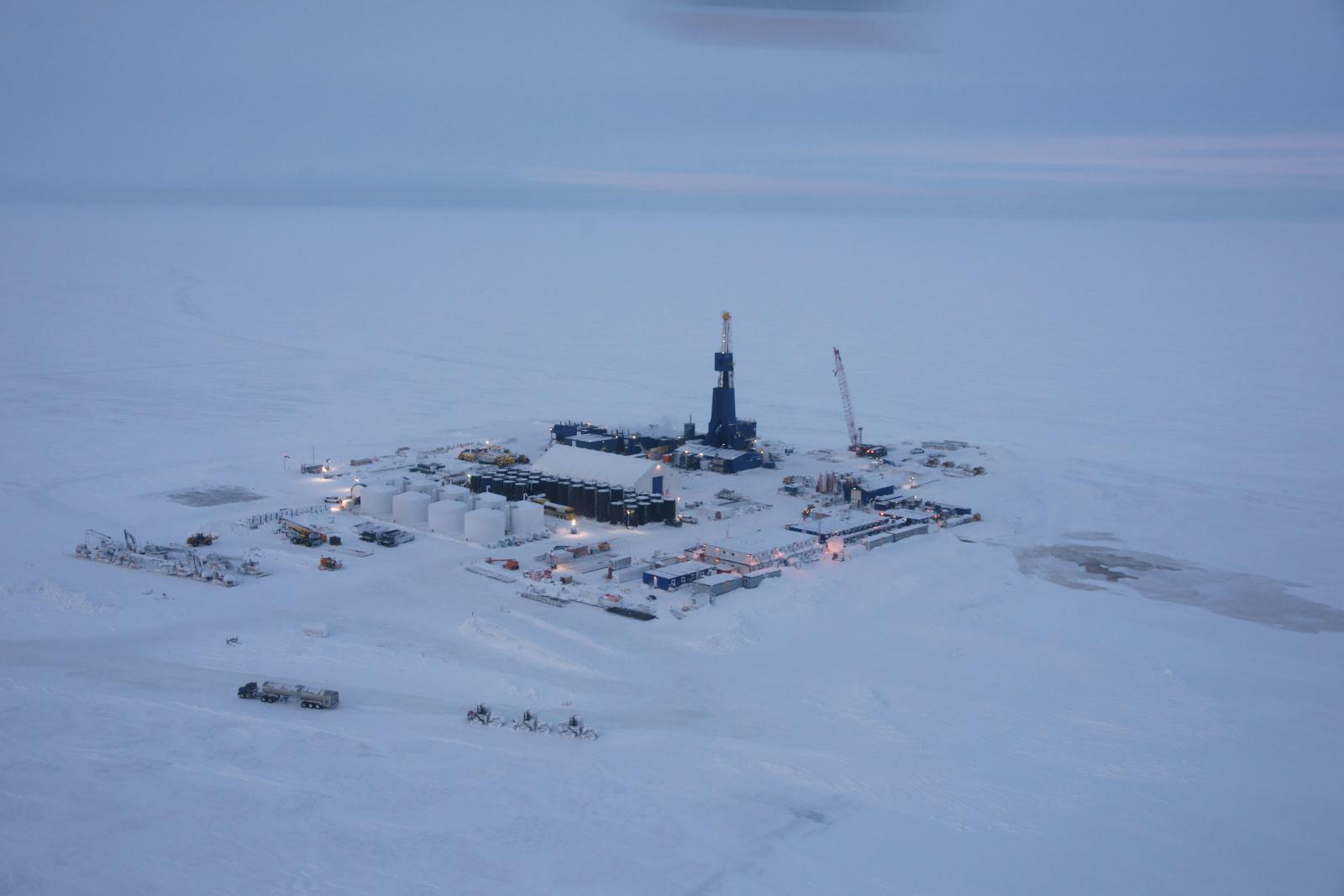 Point Thomson sits to the east of the better known and more successful Prudhoe Bay field. Photo courtesy of ExxonMobil. Alaska Dispatch.