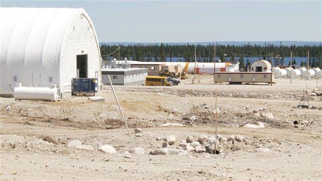 Site of the Matoush uranium project in northern Quebec, Canada. (Claude Bouchard. Radio-Canada)