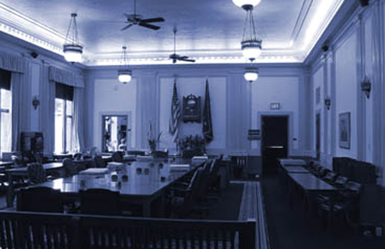 Chambers in the Capitol Building in Juneau, Alaska. Photo: State of Alaska