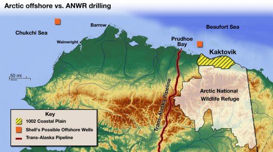 Kaktovik Alaska Map.Arctic Ocean Vs Anwr A Tale Of Two Oil Fields Eye On The Arctic