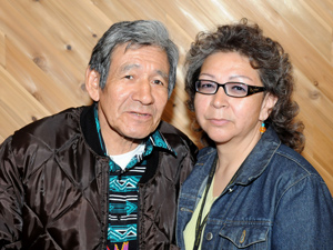 Cree Elder Raymond Ballantyne and his helper Madonna O'Nabigon are planning to perform their own Sunrise Ceremony on National Aboriginal Day on June 21st. (Kumik/The Canadian Press)