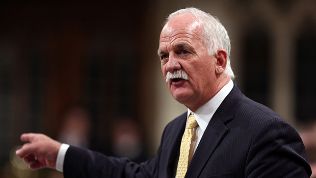 Public Safety Minister Vic Toews told MPs Monday that funding for the federal First Nations Policing Program has been renewed for five years. (Fred Chartrand/Canadian Press)