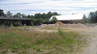 A former saw mill in Alvesta is on the list of toxic sites. File photo: Simon Campanello / P3 Nyheter