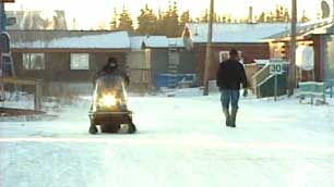Old Crow, the northernmost community in Yukon, Canada. (CBC)