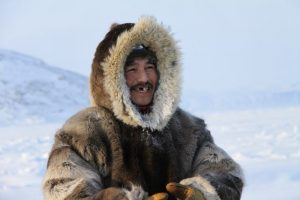 An Inuit hunter