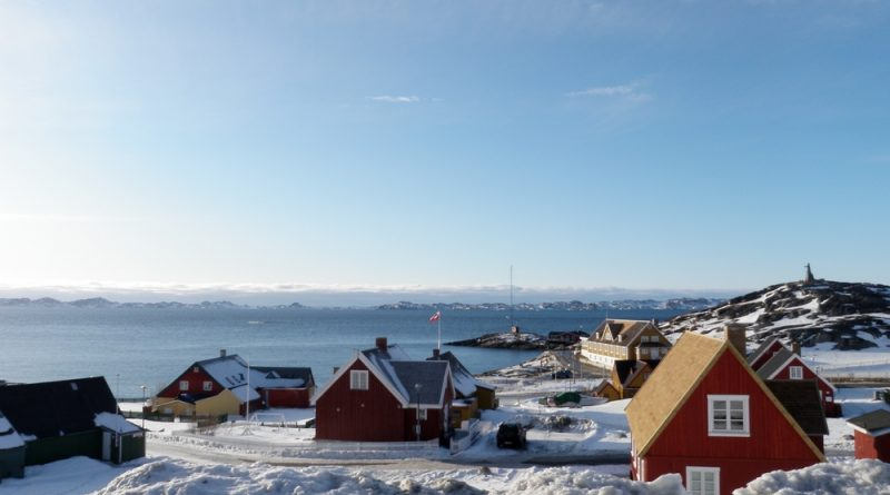 Nuuk's Old Town.