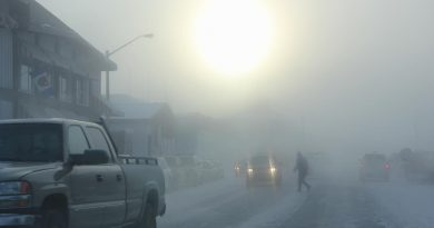 What will the new Arctic highway mean for residents in Inuvik (pictured above) and elsewhere in the region? Photo Credit: (Eilis Quinn / Eye on the Arctic)