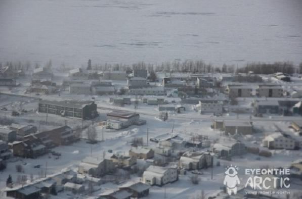 Norman Wells, Northwest Territories, Canada. (Eilís Quinn, Eye on the Arctic, Radio Canada International)