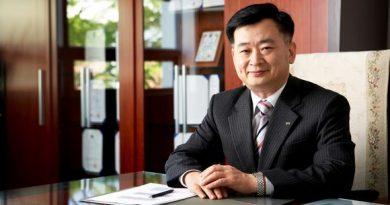 Su-Jou Kim is the head of STX Finland and STX Europe.(STX Europe, Yle)