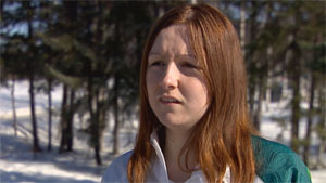 Alice Mawdsley is one of the northerners featured in the special CBC North Series: Booze Beyond 60. When she was 16, she was being towed on a tube by a snowmobile. Her friends were drinking. The machine ended up sending her into a pickup truck, leaving her in a coma for three weeks. (CBC)