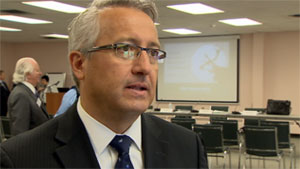 Keith Martell, CEO of the First Nations Bank of Canada, says the bank is opening a branch in Yellowknife because of the large aboriginal population and resource development in the region. (CBC)