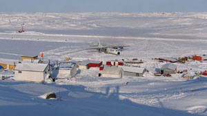MMG's exploration camp at its High Lake site in the Kitikmeot region of Nunavut. The federal minister of Northern Development has given Nunavut regulators the go-ahead to assess the zinc, copper and lead project. (MMG)