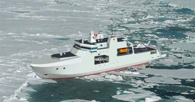 The government will pay $288 million to have Canada's Arctic patrol ships designed - the amount does not include the cost of building the ships. (Radio-Canada)
