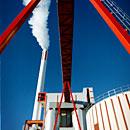 A biofuel facility in Eskilstuna, Sweden. (Åsa Westerlund / PRB / Radio Sweden)