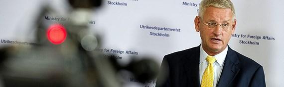 Sweden's Foreign Minister Carl Bildt. (Scanpix, Radio Sweden)