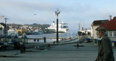 View of Stavanger, Norway. (Nina, Larson, AFP)