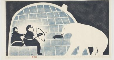 Print from 1959 Cape Dorset Print collection.
