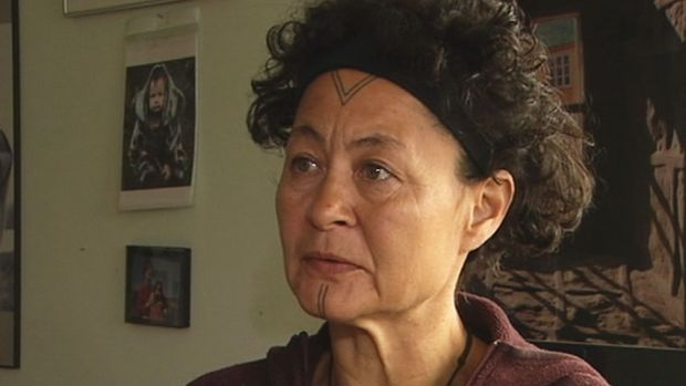 Aaju Peter who, sails with Adventure Canada on its summer Arctic cruises, said more docks are needed in Nunavut. (CBC)