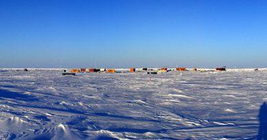Station Pôle Nord 40 en Arctique (AARI)