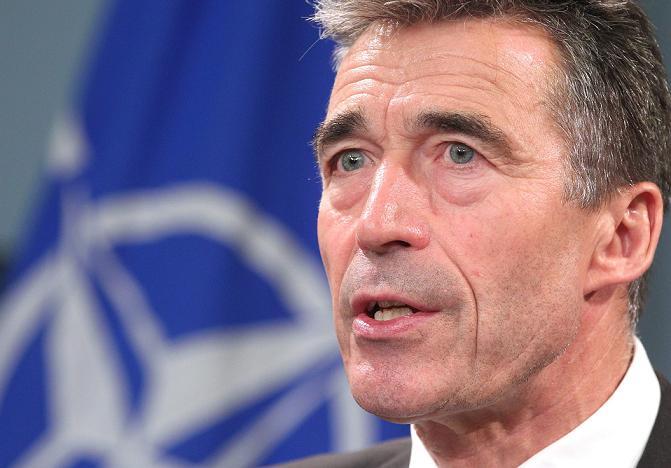 NATO Secretary General Anders Fogh Rasmussen. (Yves Logghe, AP)