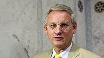 Sweden's foreign minister, Carl Bildt. (Radio Sweden)