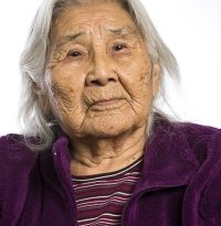 Alaskan elder Katie John passed away on Friday.(Chris Arend / Ahtna, Incorporated / APRN)